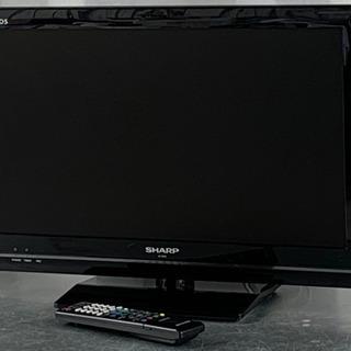 格安で!シャープ アクオス 液晶テレビ◇22型◇2011年製◇L...
