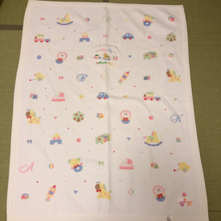 赤ちゃんの城 綿100% 毛布