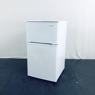 中古 冷蔵庫 2ドア ヤマダ電機 YAMADA 2017年製 9...