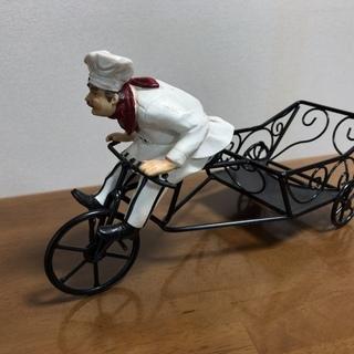ワインスタンド コックの三輪車