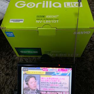 お値下げ!サンヨー ナビゲーションシステム gorilla5.0V型