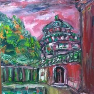 台湾画家油絵
