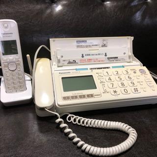 Panasonic FAX 子機付き電話機