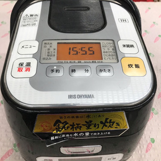 IHジャー炊飯器RC-IA30-B ジャンク扱い/部品取りに