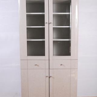 1351 カップボード 食器棚 飾り棚 収納棚 高さ180cm ...