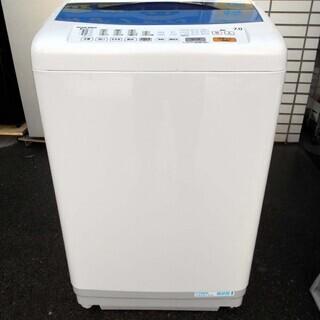 【恵庭発】ナショナル 7Kg洗濯機 07年製 簡易清掃済み!