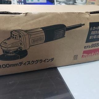 【未使用】マキタ 100㎜ ディスクグラインダー 9553B 箱...