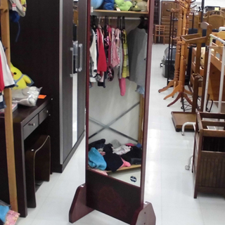 姿見 昭和レトロ 和室 ミラー 鏡 大型姿見 苫小牧西店