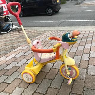 大人気アンパンマン子供用自転車です!
