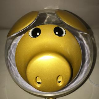【決まりました】金の豚・加湿器・どでかぶーさん