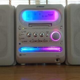 ビクター CD MD カセット コンポ  CA-UXQ10