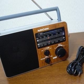 音がはっきり聞きやすいラジオ 操作簡単
