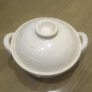長谷園 ヘルシー蒸土鍋 小
