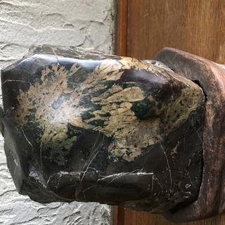 置物 名石 盆石 盆山 11×14×9cmくらい