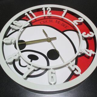 ★CECIL McBEE/セシルマクビーの壁掛け時計★中古