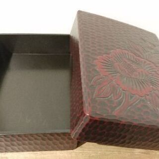 木製 木彫り文箱