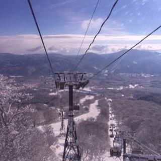 雪山に初滑りに行きませんか??