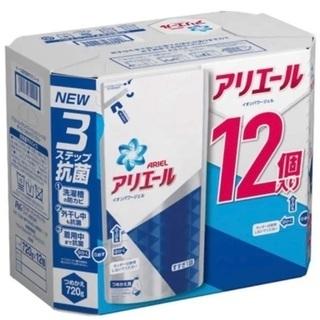 アリエール 洗濯洗剤 液体 イオンパワージェル詰め替え 1ケース...