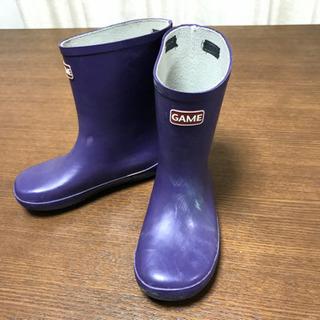 ★GAME 19cm 長靴★