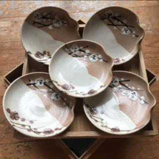 (たち吉) 梅の絵柄 和皿 5枚
