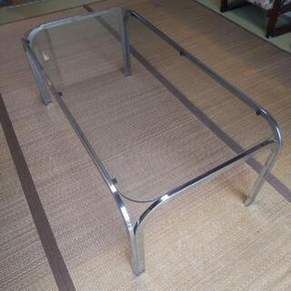 ガラステーブル103×53×41センチ