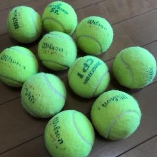 硬式テニスボール10個セット☆中古