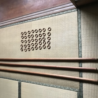 木製・手作りのカーテンレールとカーテンリング売ります