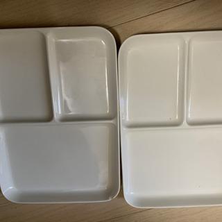 無印のプレート皿