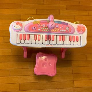 キティちゃん電子ピアノ