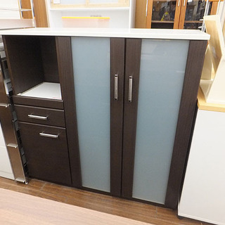 札幌 引き取り ニトリ キッチンカウンター 食器棚 キッチン収納...