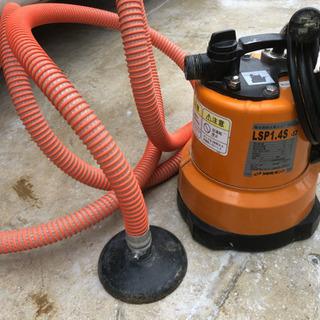 【レンタル】低水位吸排水ポンプ 床下洗浄に