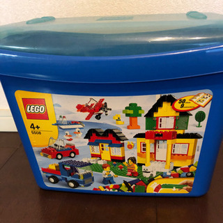 レゴ (LEGO) 基本セット 青のコンテナスーパーデラックス 5508の画像