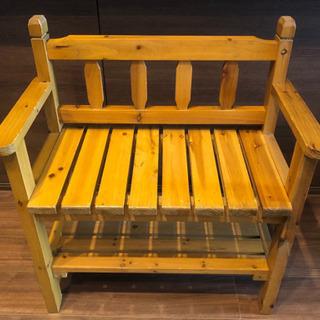 木製 ベンチ イス 棚