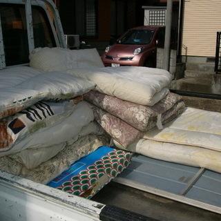 処分にお困りの布団回収いたします。 − 埼玉県