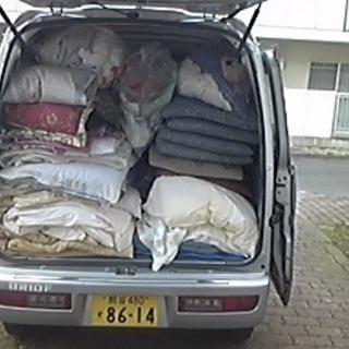 処分にお困りの布団回収いたします。 - 鴻巣市