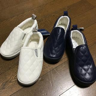 新品★値下げ★16cm・17cm 子供 スリッポン スニーカー ...