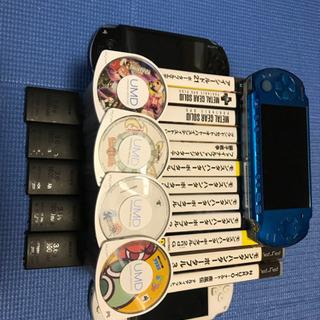 PSP本体、カセット等