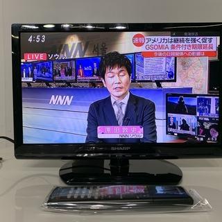 SHARP シャープ 液晶カラーテレビ LC-19K90 201...
