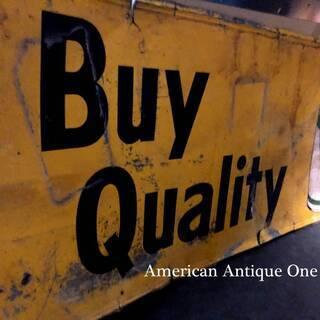 非売品 大型242cm クエーカーステート ペンゾイル社 鉄製 ...