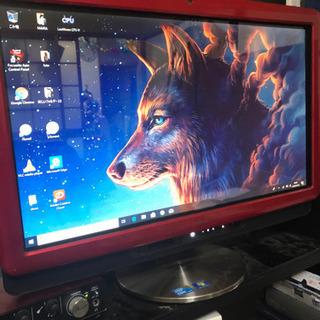 富士通 一体型パソコン i5/8GB/SSD256GB タッチパネル