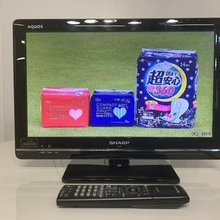 SHARP シャープ 液晶カラーテレビ LC-19K7 2012年製