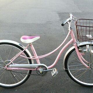 ブリヂストン 24インチ 女児自転車