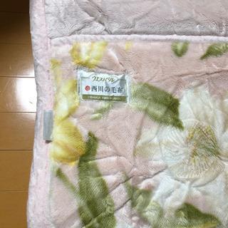 西川の毛布 140 × 200cm
