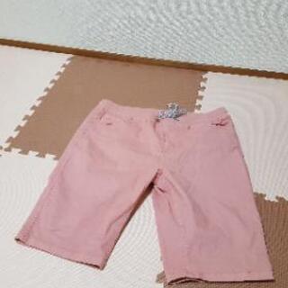 ピンク 半ズボン
