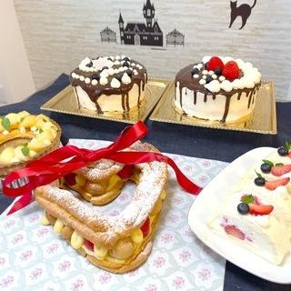 🎂ヘルシーで美味しいクリスマスケーキ教室(ナナアコール)🍰