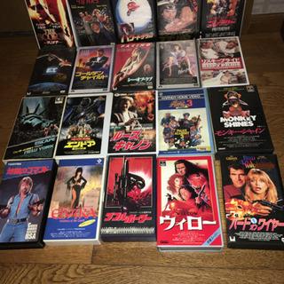VHSビデオ差し上げます。