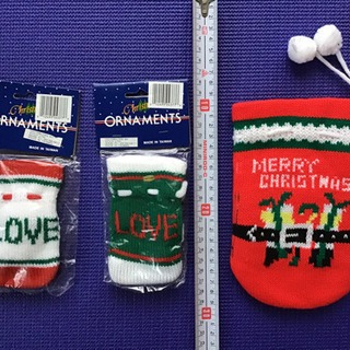 【未使用品】クリスマス用の小物