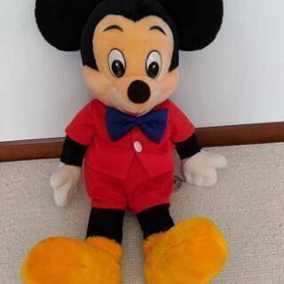 ディズニーぬいぐるみ ミッキーマウス - おもちゃ