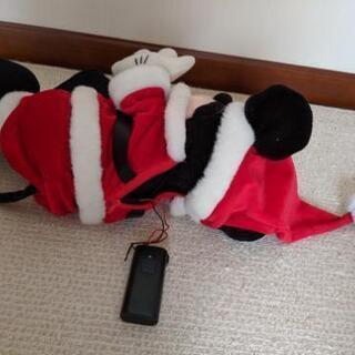 ディズニーぬいぐるみミッキーマウスサンタ - おもちゃ
