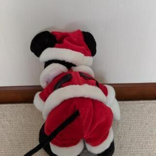 ディズニーぬいぐるみミッキーマウスサンタ − 新潟県